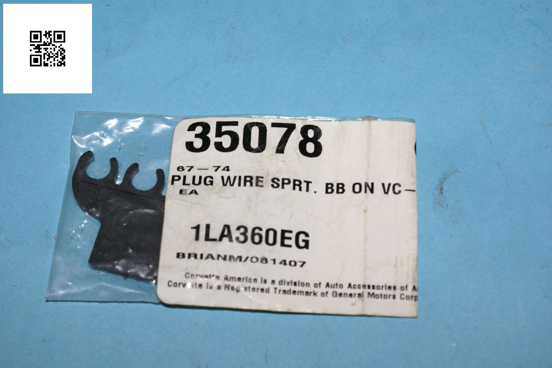 1967-1974 Corvette C2 C3 Big Block Plug Wire Separator 35078 New