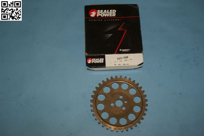 Vortex 414ZR-53 Red 53-Tooth Rear Sprocket