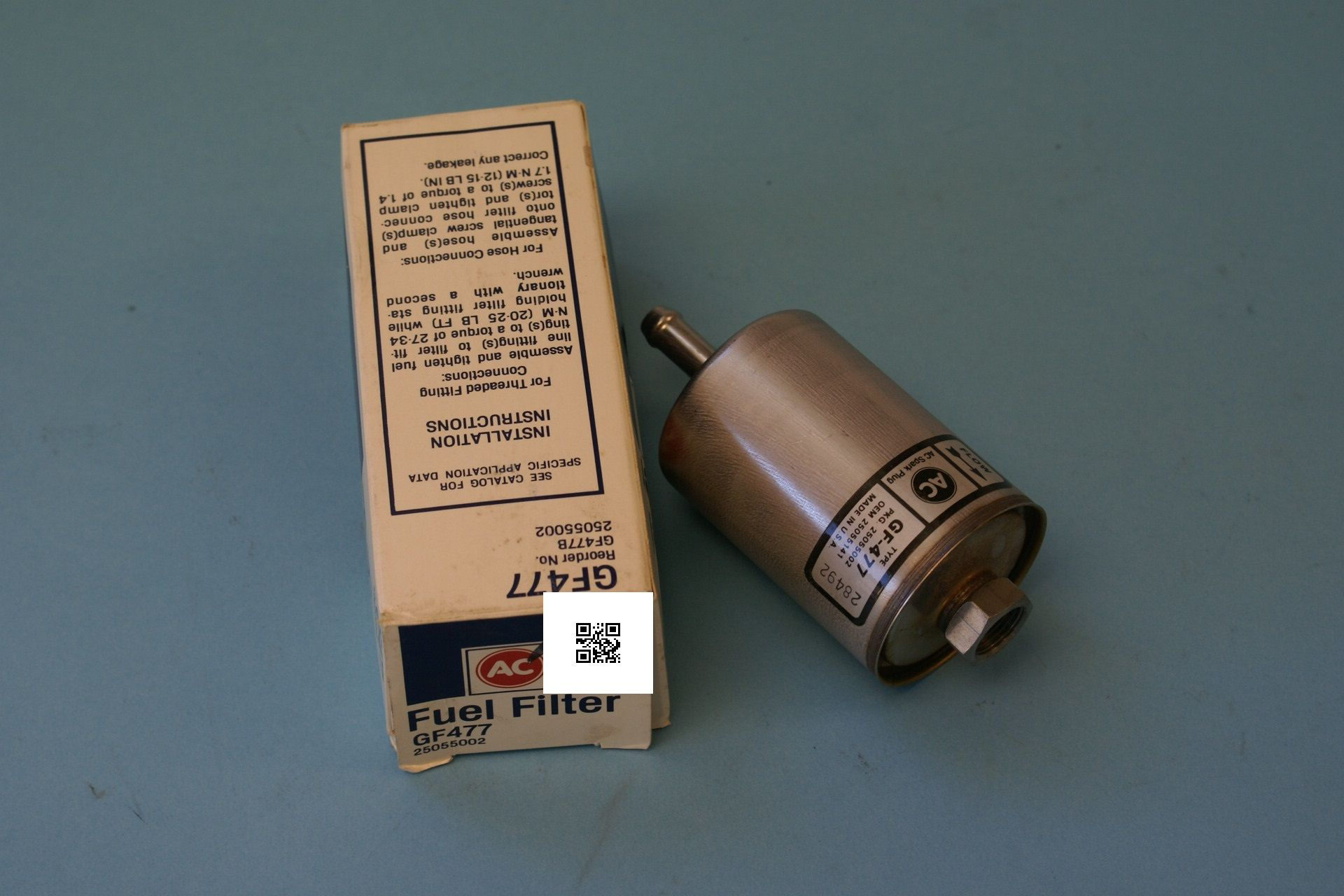 1982 Chevy Camaro Citation Fuel Filter New In Box Ac Filters